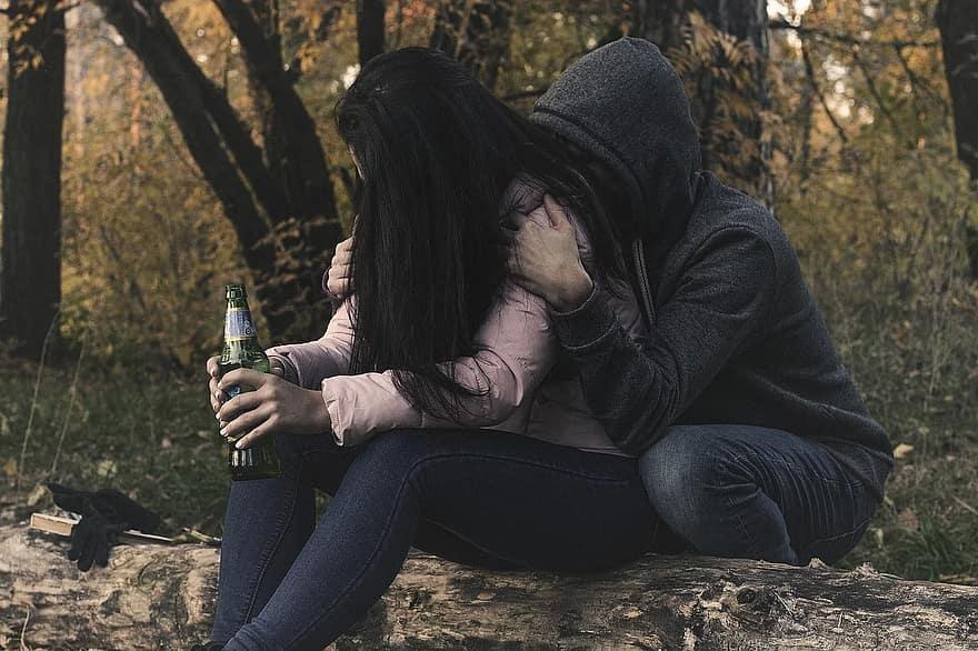 Afhænighed af stoffer eller alkohol